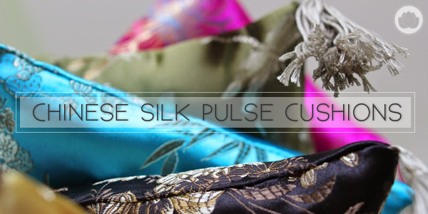 Chinese Silk Pulse Cushions : Chinese Medicine Living