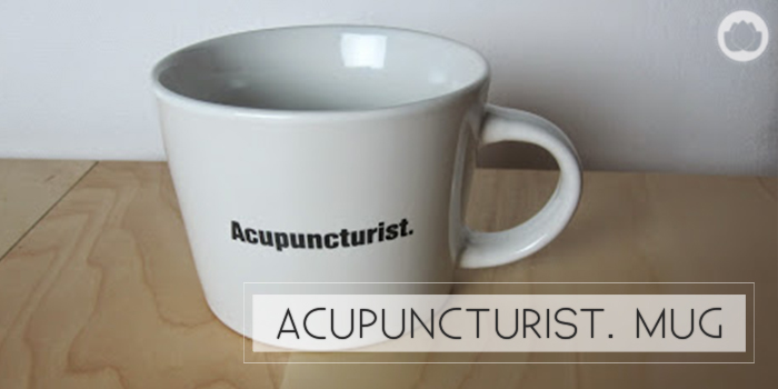 Acupuncture Mug : Chinese Medicine Living