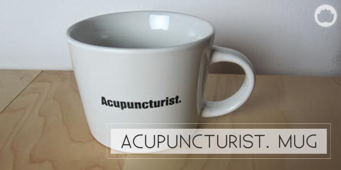 Acupuncture Mug : Chinese Medicine Living