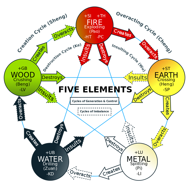 5 Elements : Chinese Medicine Living