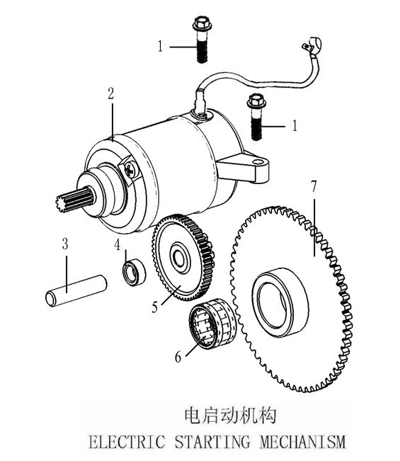 Diagram For 139qmb Engine