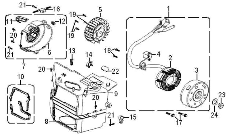 Adventure Scooter Parts. Diagram. Auto Wiring Diagram