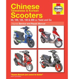 haynes chinese scooter service repair manual 4768 h4768 cmpo chinese motorcycle parts online [ 1024 x 1024 Pixel ]