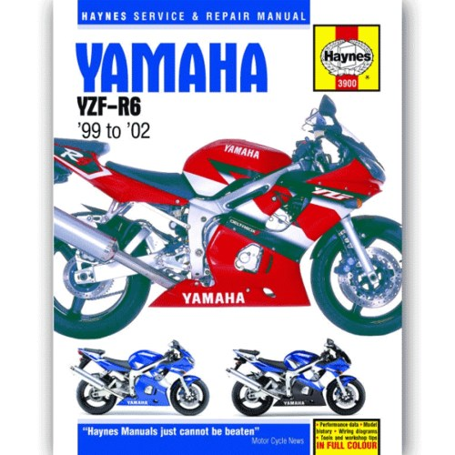 small resolution of haynes manual 3900 for yamaha yzf r6 99 02 h3900 cmpo chinese motorcycle parts online