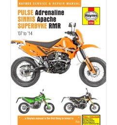 haynes manual 5750 for pulse adrenaline 125 250 h5750 cmpo chinese motorcycle parts online [ 1024 x 1024 Pixel ]
