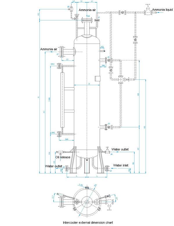 Compressor Intercooler, Refrigeration System, Wanxiang