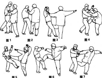 Ba Gua Linking chain kick Form