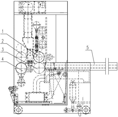 Схема управления на бесконтактных и контактных элементах