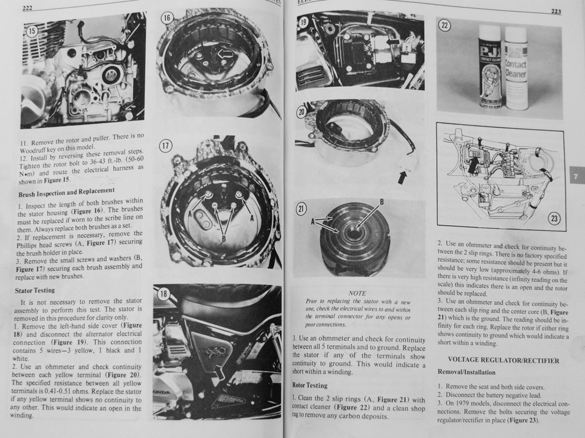 hight resolution of 79 82 honda cb650 charging problems chin on the tank motorcycle getting cb650 electrical diagram
