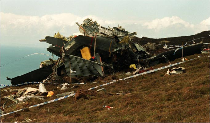 ZD576 Crash Site