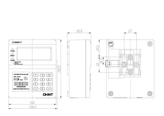 single phase prepaid meter wiring diagram