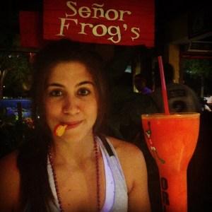 Senor Frogs drink