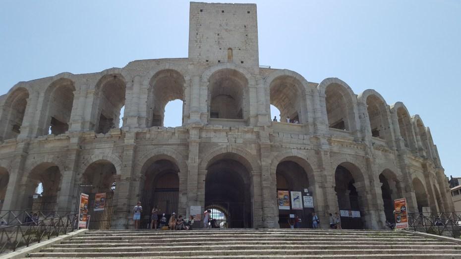 L'arena romana di Arles