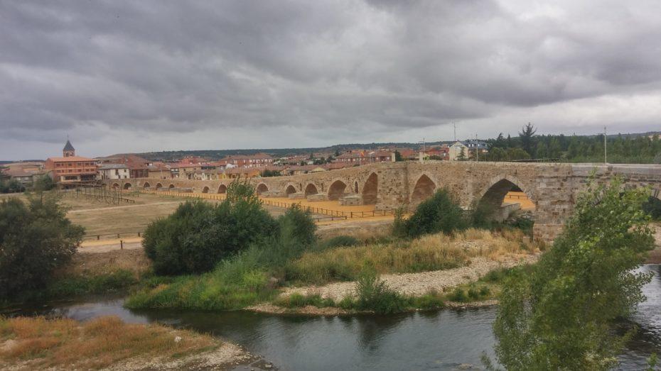 Il ponte a Hopital de Orbigo