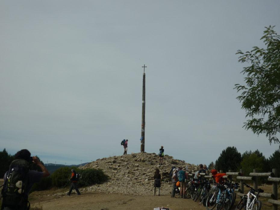 La Cruz de Hierro alt. 1500 m s.l.m.
