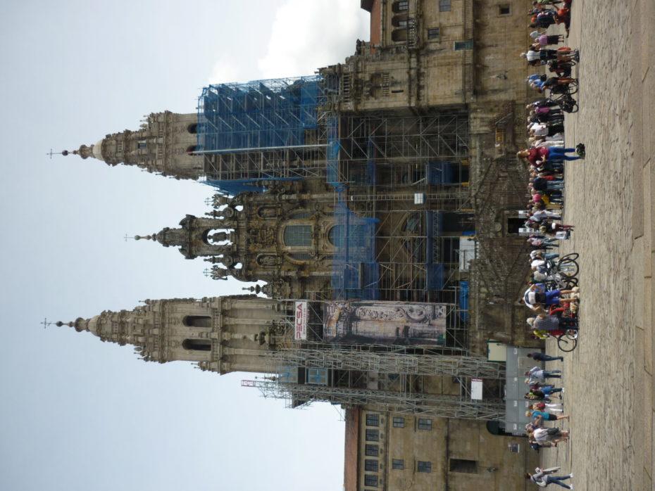 La Cattedrale di Santiago de Compostela...in restaurazione