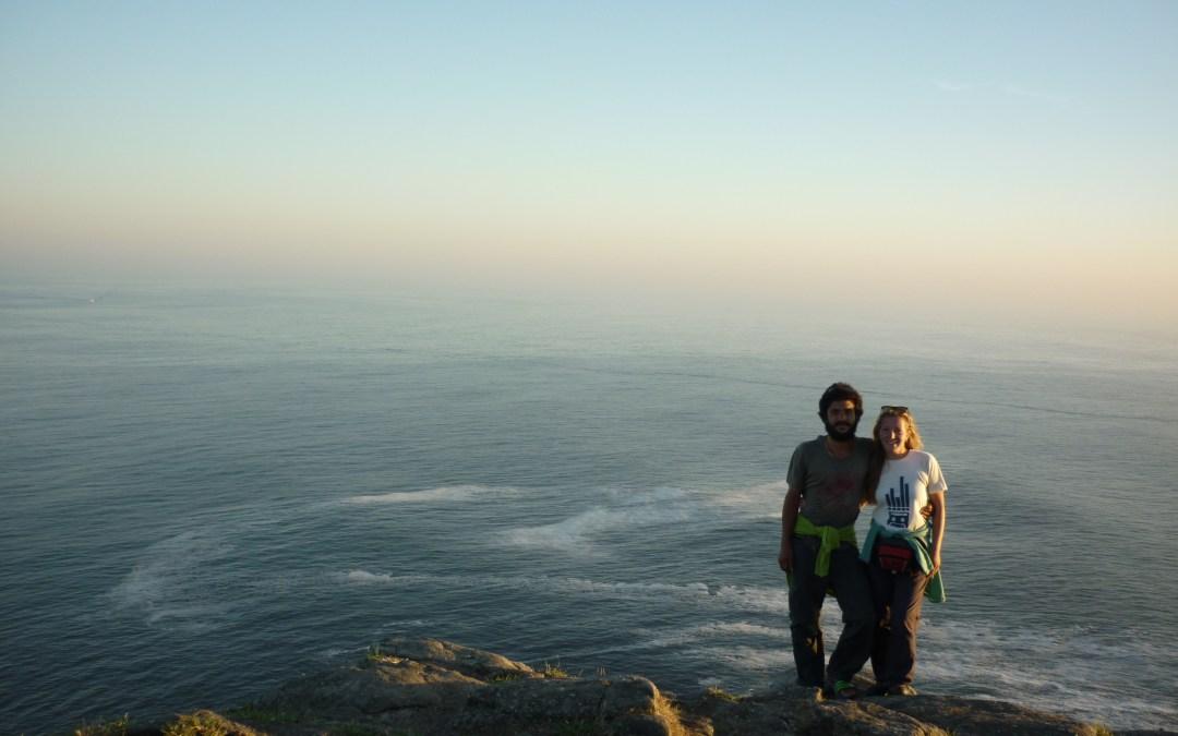 Da Santiago de Compostela a Finisterre: solo l'oceano può fermarci