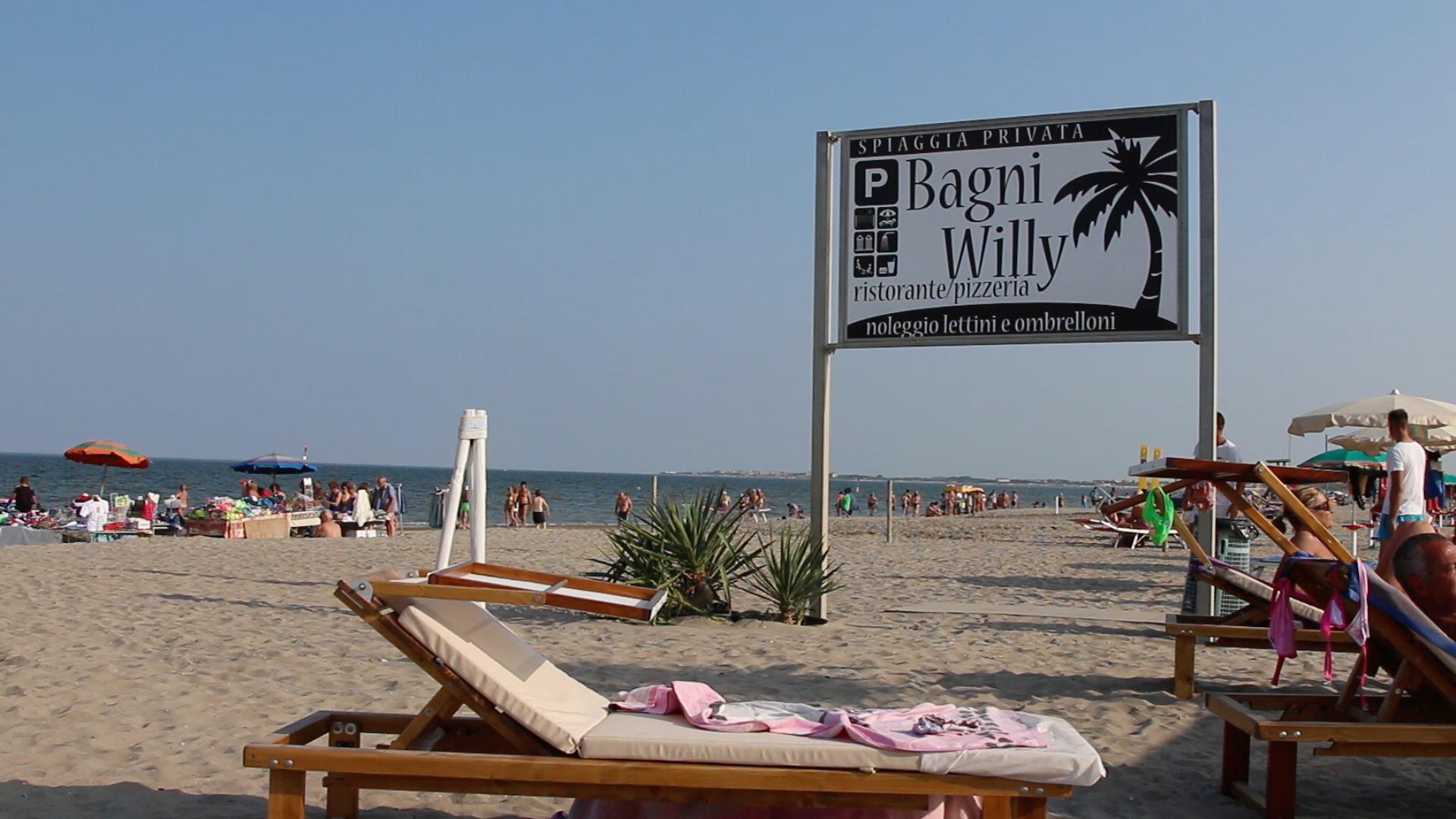 Bagni Willy unoasi di relax e divertimento  ChioggiaTV