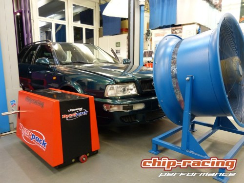 Chip-Racing Audi RS2 Tuning: Garrett GTX3076R
