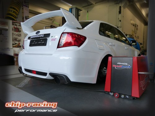 Subaru WRX STI on our Dynapack