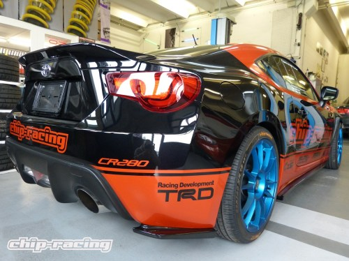 APR aerokit for Toyota GT86 and Subaru BRZ