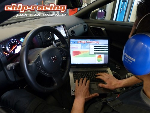 Nissan GTR Tuning: Mapping the ECU with EcuTek