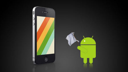 Android'in iPhone'a teslim olduğu 10 alan!
