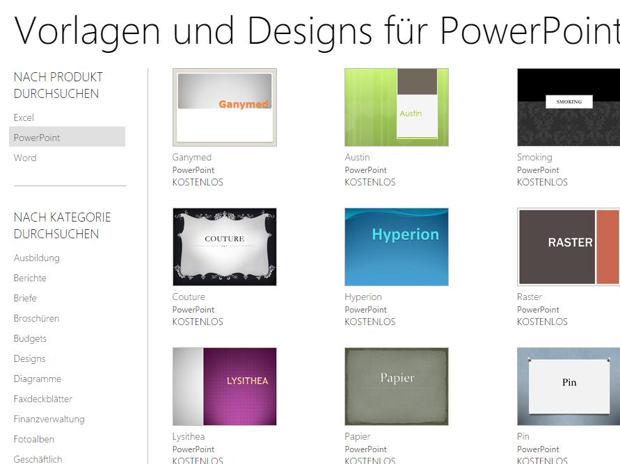 PowerPoint Vorlagen kostenlos  Download  CHIP