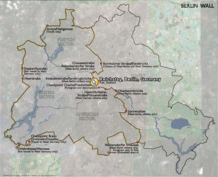 Berlin Wall fr Google Earth  Download  CHIP