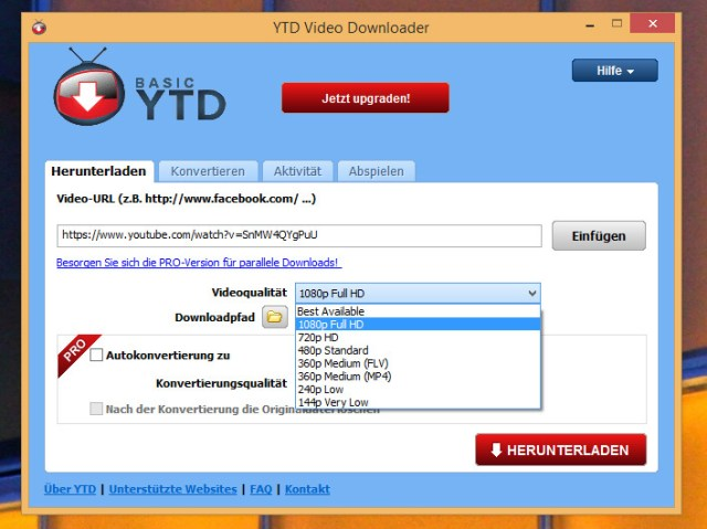 Resultado de imagem para 5. YTD (YouTube Downloader)
