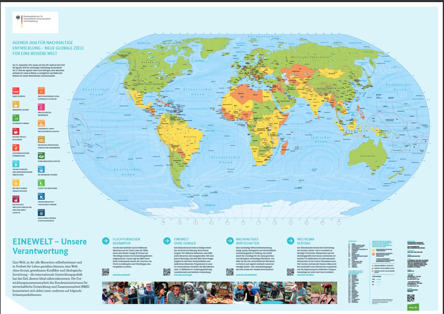 Weltkarte zum Ausdrucken  Download  CHIP