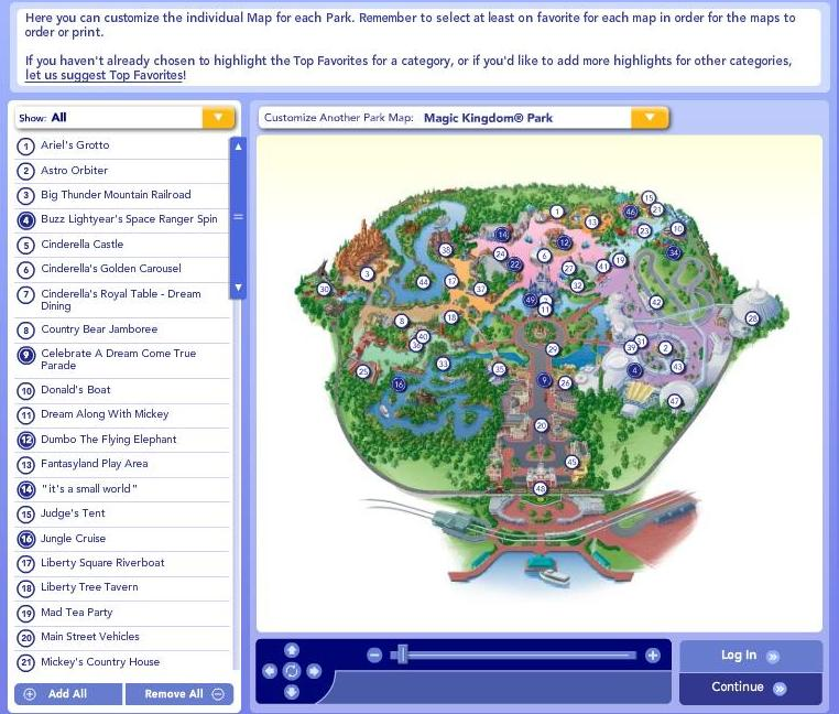 graphic about Printable Disney Park Maps identified as Create your private custom made Disney Planet Maps