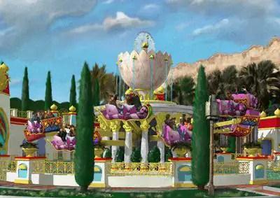 Toyko Disney Resort - Jasmine's Flying Carpets to open 2011 1