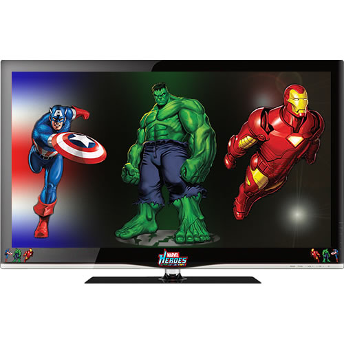 Marvel Comics LCD & LED Television Now on Sale at the Marvel Shop 1