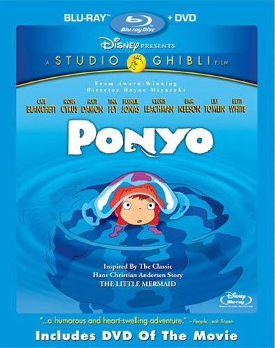 Disney's Ponyo Blu-ray Combo Pack Free Giveaway! 2