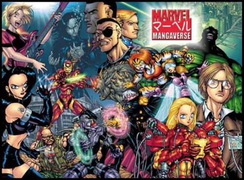 Del Rey Publishing closes the book on Marvel manga 1
