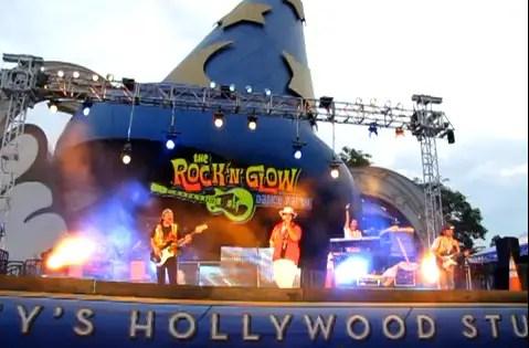 Disneyworld Rock n Glow Dance Party Video 1