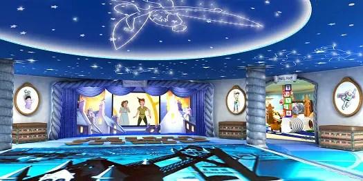 Inside the Disney Dream - Oceaneer Club, Andy's Room, & Pixie Hollow 1