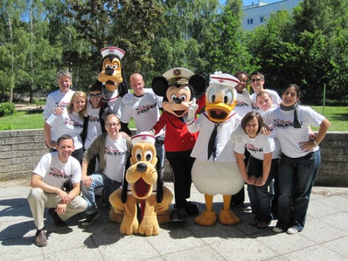 Disney Cruise Line Gives Back to Port Communities in Europe 1