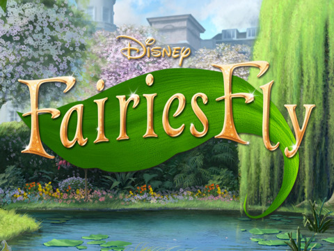 Disney Fairies Fly Game on iPad
