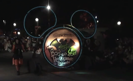 2010 Mickey's Not So Scary Halloween Party – Boo To You Parade 1