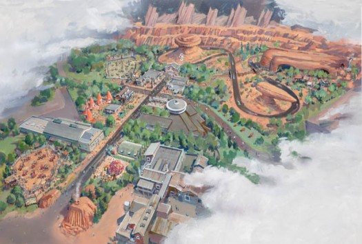 Video: DCA's Carsland Time Elapsed Video 1