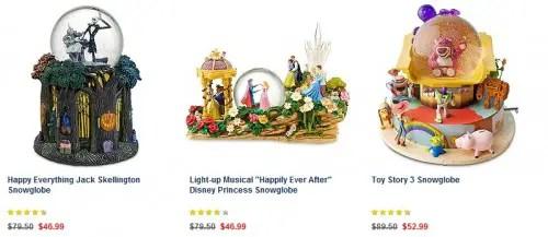 Snowglobe Sale at Disney Store starts now! 1