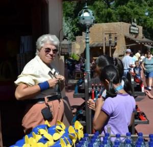 Disney Pin Trading at Magic Kingdom