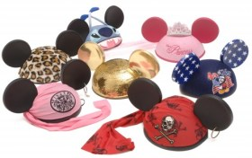 Customized Mickey Mouse Ears. Photo by Gene Duncan/Disney.