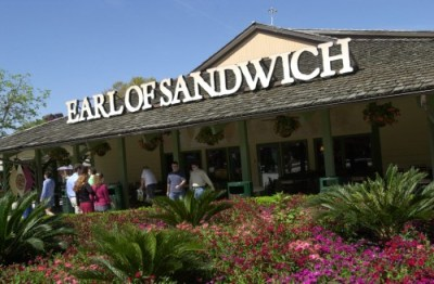 Earl of Sandwich, a quick service restaurant at Downtown Disney in Walt Disney World, is a popular fast-food stop.