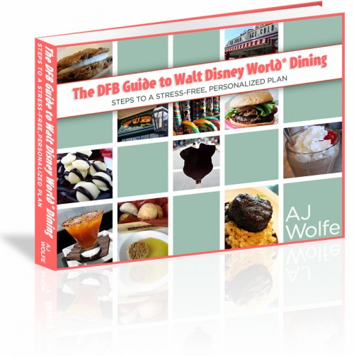 The DFB Guide to Walt Disney World Dining e-Book Grand Launch (and Discount!) 1