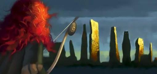 First Look Concept Art for Disney-Pixar's 'Brave' 2