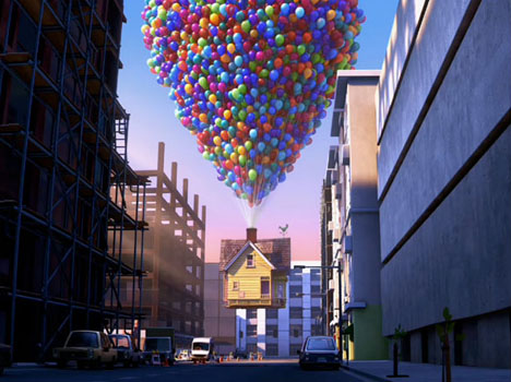Very Cool: National Geographic Recreates Pixar's Up Floating House In Real Life 1