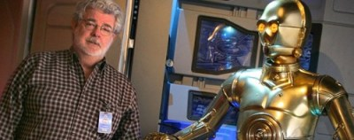 George Lucas and C-3PO